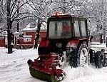 Из Челябинска вывезли 35 тысяч тонн снега