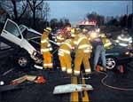 На трассе Уфа-Челябинск столкнулись четыре автомобиля