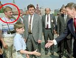 Переодетый туристом Путин встречался с Рейганом, утверждает фотограф Обамы (ФОТО)