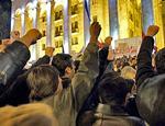 """Читатели """"НР"""" требуют немедленной отставки Саакашвили"""