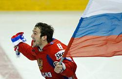 Россия победила Чехию - 4:3