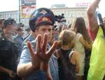 Триумфальная площадь ОМОНа / 31 октября несогласных снова будут бить