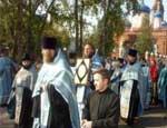 В Челябинскую область прибыл Всероссийский крестный ход
