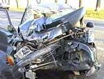 В день памяти жертв ДТП по челябинским улицам провезут искореженный автомобиль