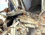 В Челябинске рухнул гараж, в котором находился автосервис