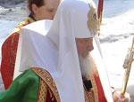 Патриарх Кирилл выступил в екатеринбургском ДИВСе / На встречу с патриархом собралось несколько тысяч человек