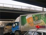 В Челябинске маршрутка столкнулась с грузовиком, есть пострадавшие