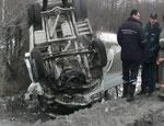 В Златоусте произошло ДТП с участием маршрутки (ФОТО) / Есть погибшие и раненные