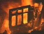В Челябинске загорелся автомобильный салон