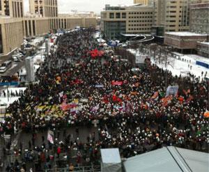 Стал известен проект резолюции оппозиционного митинга в Москве (ВИДЕО) / «Ни одного голоса Путину 4 марта»