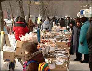 В Челябинске за незаконную торговлю на улице  наказали 21 человека