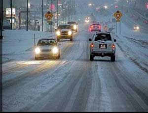 Челябинские водители жалуются на новый дорожный реагент
