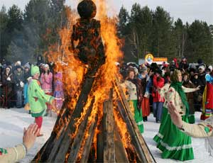 В последний день Масленицы в Челябинске сделают 70-килограммовый леденец