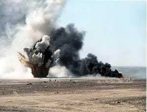 До 2013 года Минобороны планирует сократить базу хранения боеприпасов на Южном Урале / Утилизировать снаряды будут на оборонных заводах