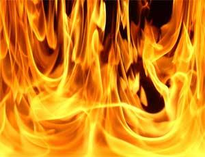 В Челябинске сгорел пассажирский автобус (ВИДЕО)