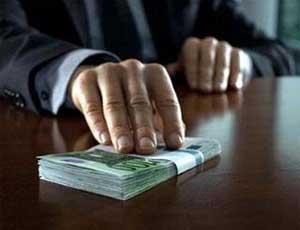 В Снежинске директора муниципального учреждения задержали за получения взятки в 1,4 миллиона рублей