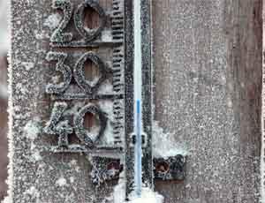 В Челябинской области экстренное предупреждение / Мороз снова крепчает