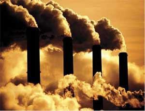 Над Челябинском повис смог / Вредные примеси в атмосфере не будут рассеиваться более 4 часов