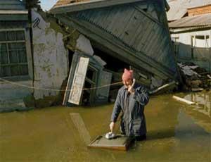 В Челябинской области ожидается обильное половодье / В зоне подтопления - 2 тысячи человек