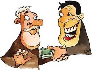 """Общественники: """"Граждане сами подогревают коррупцию"""" / 90 процентов жителей России отрицательно относятся к коррупции, но каждый второй давал взятку должностному лицу"""