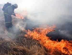 На юге Челябинской области сохраняется высокая пожароопасность