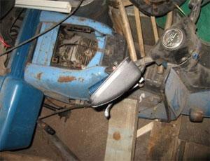 В Копейске грузовой мотороллер приземлился на своего водителя / 22-летний парень скончался на месте