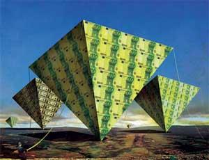 В России обвалилась очередная финансовая пирамида / Ее жертвами стали 10 тысяч человек, ущерб оценивается в 400 млн рублей