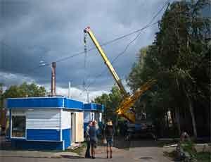 На северо-западе Челябинска снесут 6 киосков и кафе