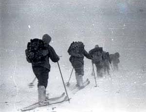 Они возвращаются / Туристы, отправившиеся по следам группы Дятлова, завершили маршрут