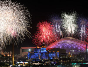 Церемония открытия Олимпийских Игр в Сочи (ВИДЕО)