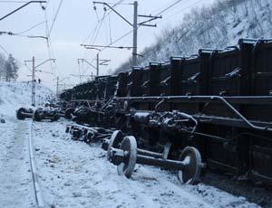Причиной схода вагонов с углем под Златоустом стало неудовлетворительное содержание железной дороги