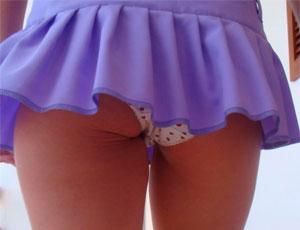 фото школьниц в юбках мини