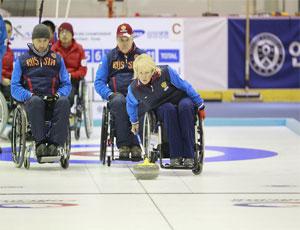 Сборная России по керлингу на колясках лидирует по числу побед на паралимпиаде