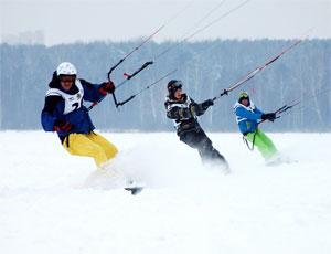 Южноуральцы стали чемпионами мира по зимнему парусному спорту