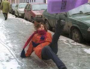 Жительница Сатки пытается отсудить у мэрии компенсацию за скользкие улицы / 50 тысяч рублей