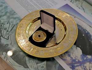 Олимпийский чемпион по шорт-треку Виктор Ан получил в подарок челябинский метеорит