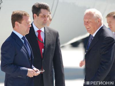 Новый Регион: Дмитрий Медведев впервые посетил Екатеринбург в статусе президента России (ФОТО)