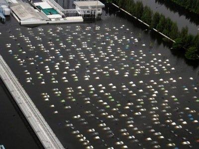 Автозавод Honda в Таиланде восстановлению не подлежит (ФОТО)