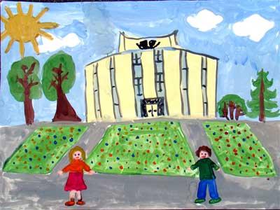 Детские рисунки челябинска
