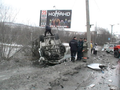 В Златоусте произошло ДТП с участием маршрутки (ФОТО)