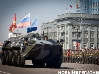 В Челябинске прошел Парад Победы (ФОТО)