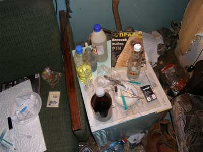 Новый Регион: На Южном Урале в гараже обнаружена подпольная нарколаборатория (ФОТО)