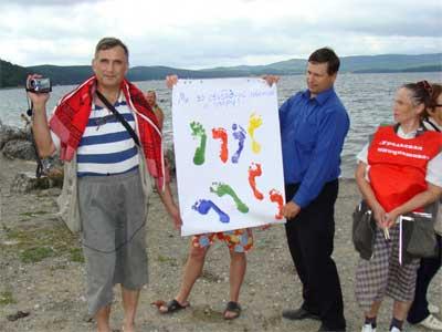 Жители Миасса выступили за свободный доступ к озерам (ФОТО)