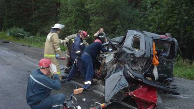 На трассе М-5 столкнулись 6 автомобилей (ФОТО)