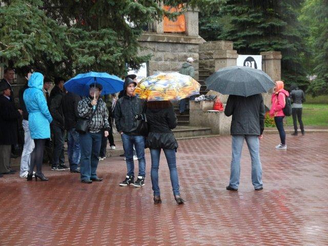 В Челябинске прошел митинг в поддержку ''Марша миллионов'' (ФОТО)
