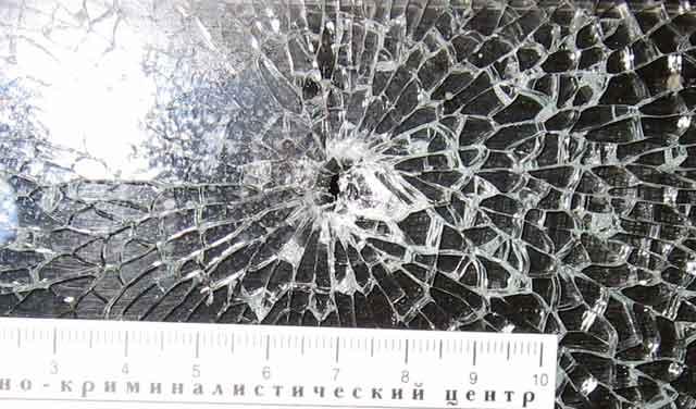 Житель Трехгорного обстрелял автобус с пассажирами (ФОТО)