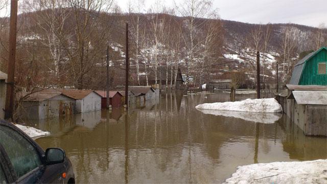 Наводнение в Аше глазами очевидцев (ФОТО)