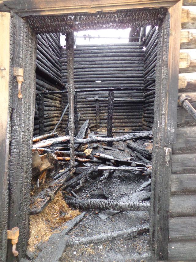 В Миассе cгорело очередное историческое здание