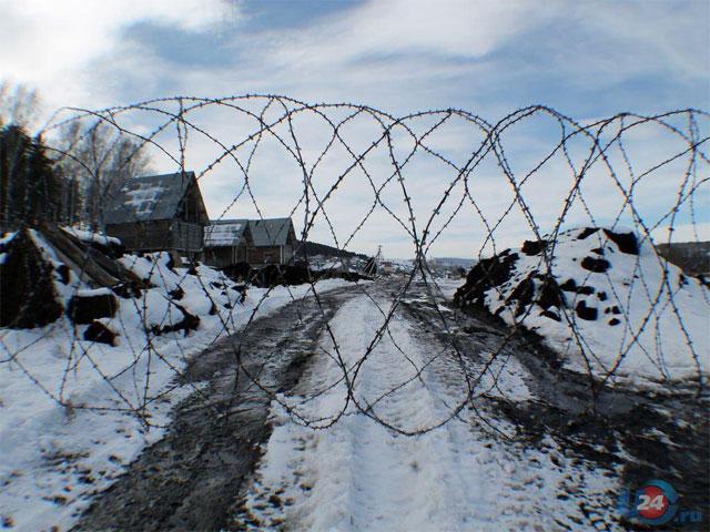 В Миассе перекрыли единственную дорогу к озеру Тургояк