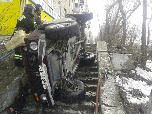 Челябинцы устроили испытания российскому внедорожнику в условиях городской среды